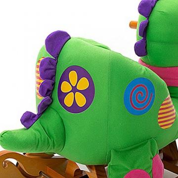 Labebe - Kinder Schaukelpferd - (Dinosaurier mit Rädern) - 2