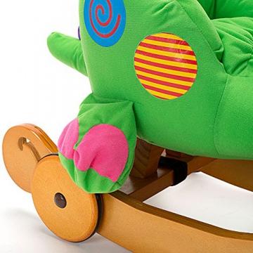 Labebe - Kinder Schaukelpferd - (Dinosaurier mit Rädern) - 4