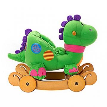 Labebe - Kinder Schaukelpferd - (Dinosaurier mit Rädern) - 7