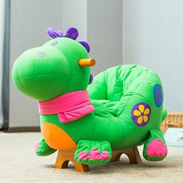 Labebe - Kinder Schaukelpferd - (Dinosaurier mit Rädern) - 8