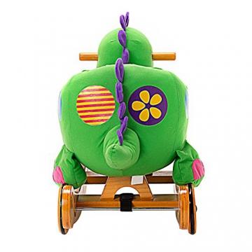Labebe - Kinder Schaukelpferd - (Dinosaurier mit Rädern) - 9