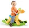 Mattel Fisher-Price BBW07 - Schaukel-Giraffe, mit Licht und Soundfunktionen - 1