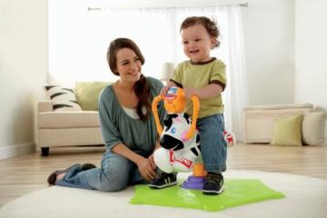 Mattel K0317 - Fisher-Price Hipp Hopp Zebra, Schaukeltier - 3