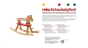 ROBA Baumann 6918 - Schaukelpferd, natur - 2