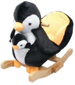 Torro 3199902570 - Schaukelpinguin, Pingi mit Baby Schaukelpferd - 1