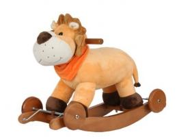 Torro 3199902610 - Schaukelpferd, Rocking Lion und Räder - 1